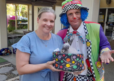Smarty Pants the Clown